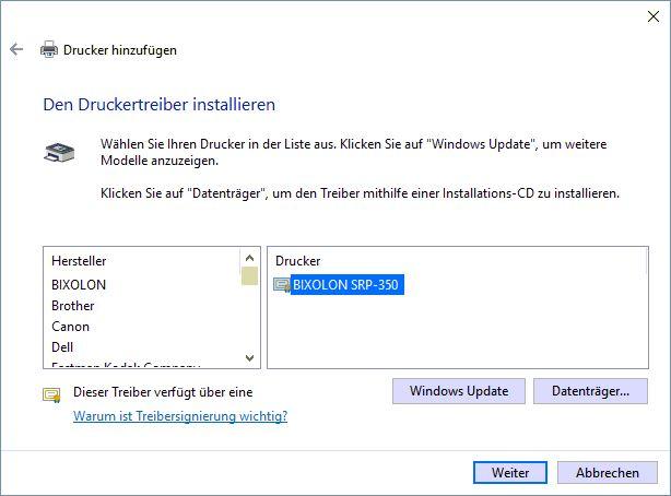 Drucker_TreiberAuswählen_Windows10