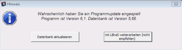 UpdateMeldung